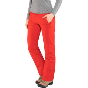 Maier Sports Vroni Slim Pantalones Stretch MTEX Mujer, rojo